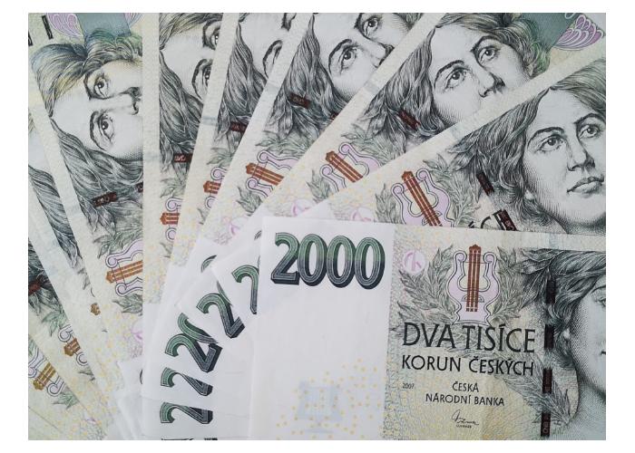 2000 bankovka
