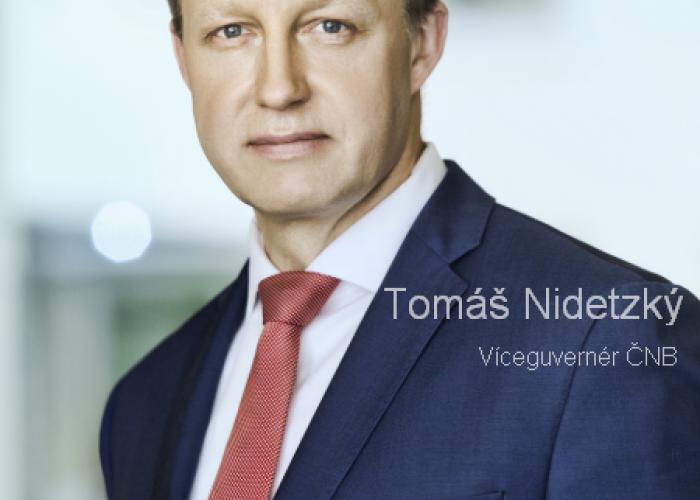 ČNB viceguvernér Tomáš Nidetzký