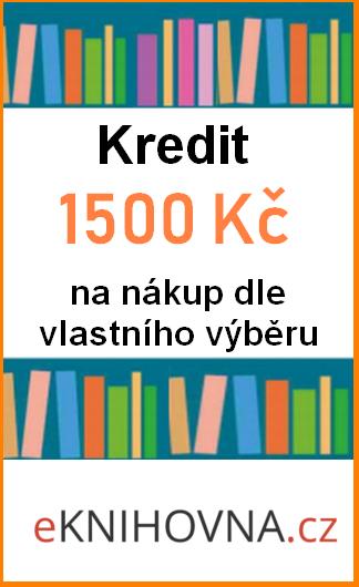 Kupón Kredit na nákup v hodnotě 1500 Kč eKNIHOVNA