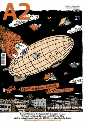 A2 kulturní čtrnáctideník 21/2020 - Český literární kánon po roce 1989