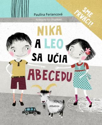 Nika a Leo sa učia abecedu