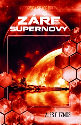 Záře supernovy