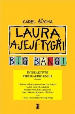 Laura a její tygři - Big Bang! (video/audio kniha)