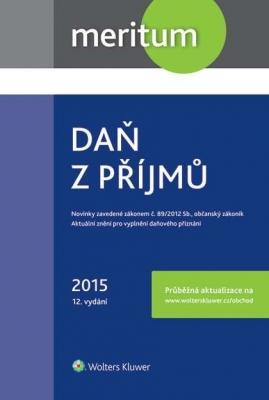 Daň z příjmů 2015