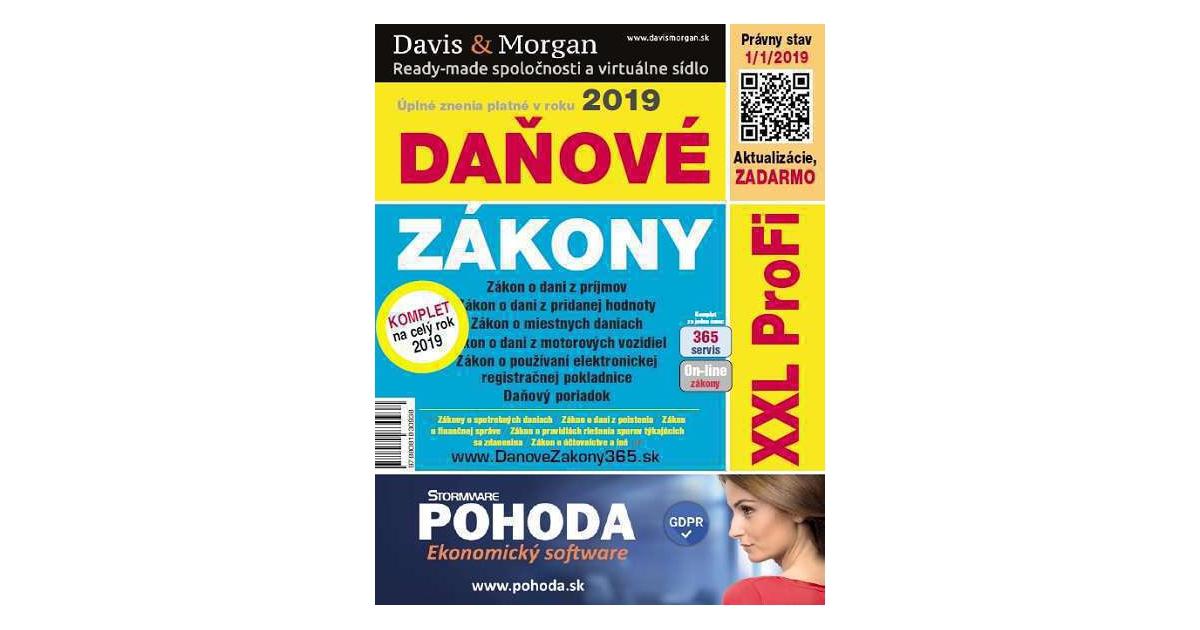 905deadac Daňové zákony 2019   eKnihy, elektronické knihy, vaše eKNIHOVNA.cz