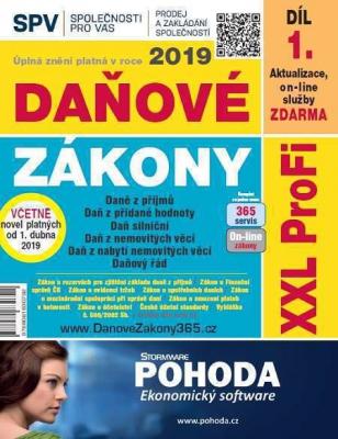 Daňové zákony 2019 ČR XXL ProFi (díl první, první vydání)