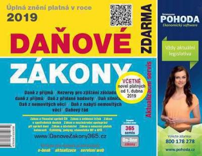 Daňové zákony 2019 ČR EXPERT (první vydání)