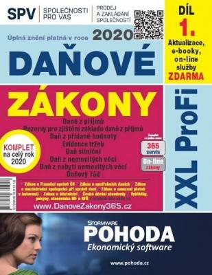 Daňové zákony 2020 ČR XXL ProFi