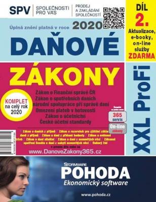 Daňové zákony 2020 ČR XXL ProFi (díl druhý)