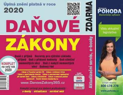 Daňové zákony 2020 ČR EXPERT