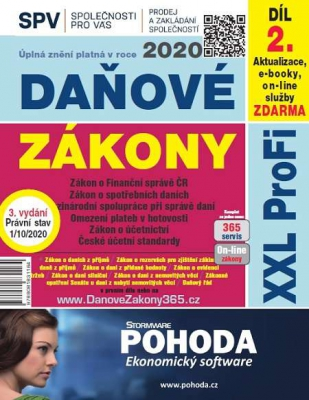 Daňové zákony 2020 SR XXL ProFi (vydanie 7.1)