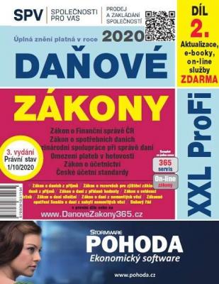 Daňové zákony 2020 ČR XXL ProFi (díl první, vydání 1.1)