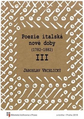 Poezie italská nové doby III