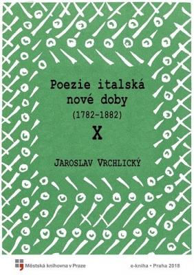 Poezie italská nové doby X