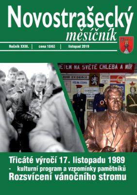 Novostrašecký měsíčník 11/2019