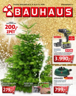 Bauhaus 27. 11. 2019 až 31. 12. 2019