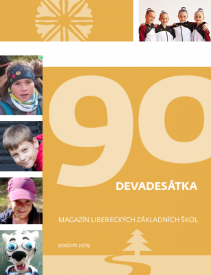Devadesátka magazín libereckých ZŠ podzim 2019
