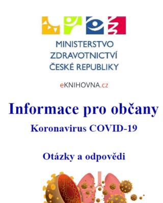 Informace pro občany o koronaviru COVID 19