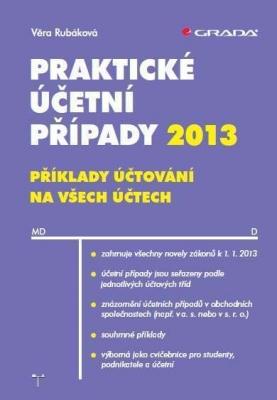 Praktické účetní případy 2013