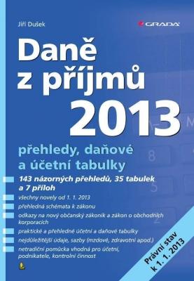 Daně z příjmů 2013