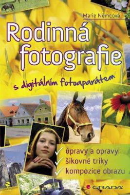 Rodinná fotografie s digitálním fotoaparátem