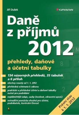 Daně z příjmů 2012