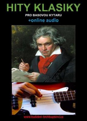 Hity klasiky pro basovou kytaru (+online audio)