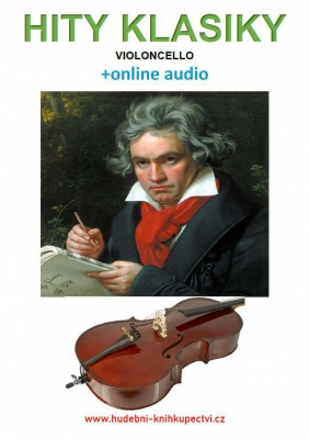 Hity klasiky - Violoncello (+online audio)