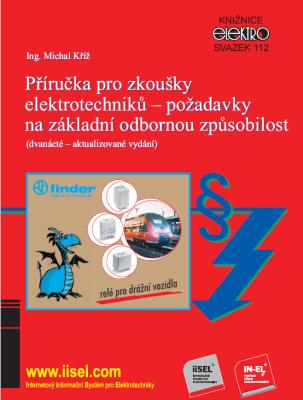 Příručka pro zkoušky elektrotechniků - požadavky na základní odbornou způsobilost