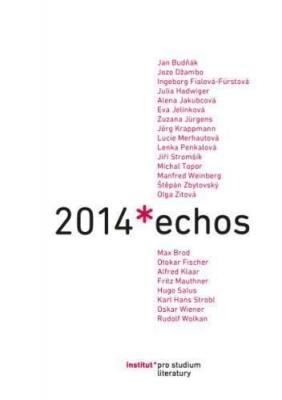 Echos 2014. Fórum pro germanobohemistiku / Germanobohemistisches Forum