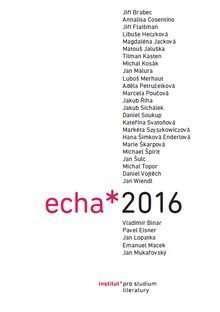 Echa 2016. Fórum pro literární vědu