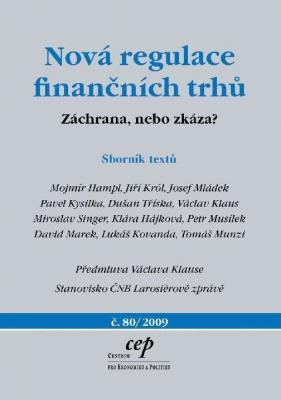 Nová regulace finančních trhů