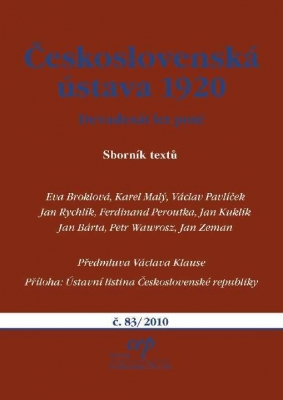 Československá ústava 1920