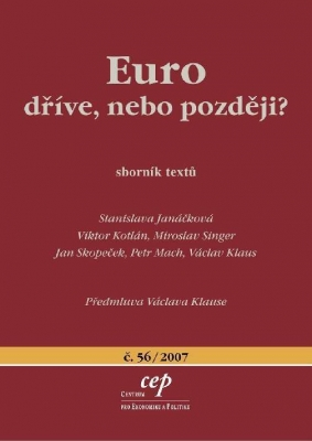 Euro: dříve, nebo později?