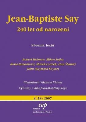Jean-Baptiste Say: 240 let od narození