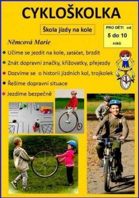 Cykloškolka aneb Škola jízdy na kole