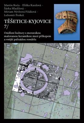 Těšetice-Kyjovice 7. Osídlení kultury s moravskou malovanou keramikou mezi příkopem a vnější palisádou rondelu