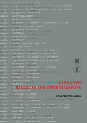 Intonation in English and Czech Dialogues