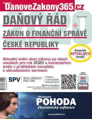 Daňový řád / Zákon o Finanční správě ČR 2020 s komentářem změn