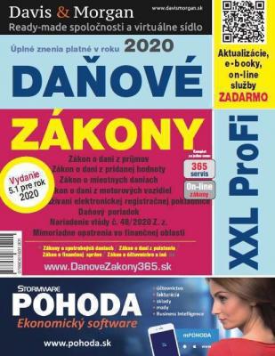 Daňové zákony 2020 SR XXL ProFi (vydanie 5.1)