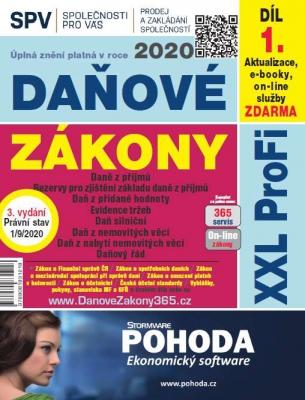 Daňové zákony 2020 ČR XXL ProFi (díl první, vydání 3.1)