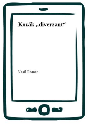 """Kozák """"diverzant"""""""
