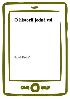 O historii jedné vsi