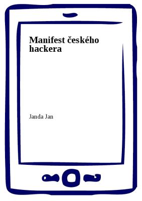 Manifest českého hackera