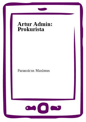 Artur Admin: Prokurista