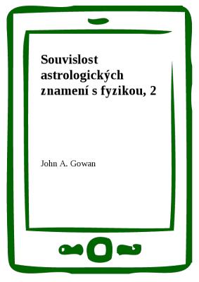 Souvislost astrologických znamení s fyzikou, 2