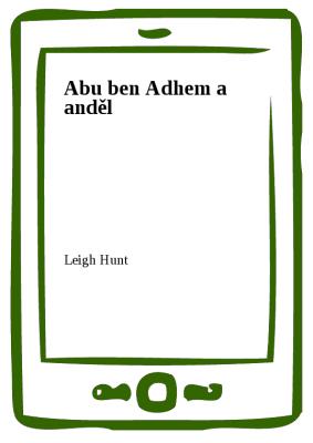 Abu ben Adhem a anděl