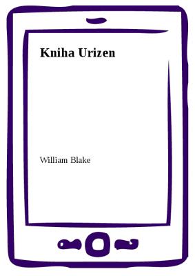 Kniha Urizen