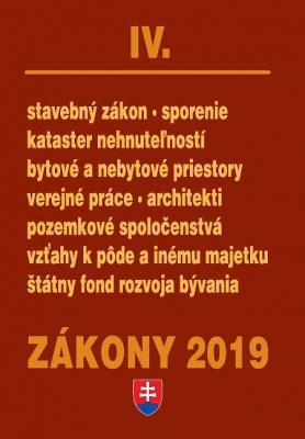 Zákony IV / 2019