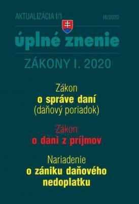 Aktualizácia I/1 2020 - Daňový poriadok, ZDP, Nariadenie ozániku daňového nedoplatku